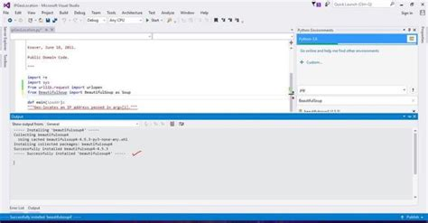 Visual Studio And Python - Importing Existing Project
