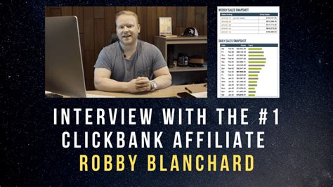[VIDEO] Interview With THE #1 Clickbank Affiliate Robby
