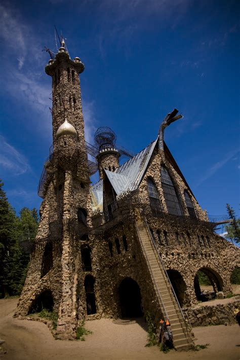 Bishop's Castle is a working piece of art constructed by