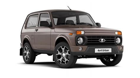 The Lada Niva now has TWO cupholders | Top Gear