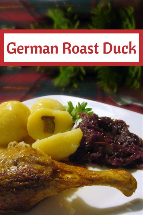 Traditional Roast Duck Recipe made Just like Oma ️ ️