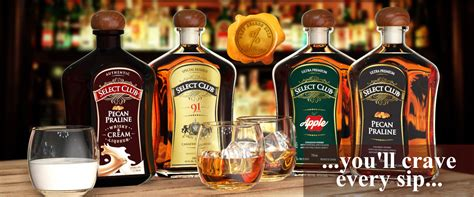 Try the Ultra Premium Canadian Whisky at Select Club Whisky
