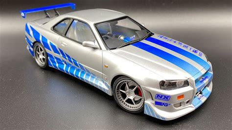Building a Replica Nissan Skyline R34 GT-R from 2 Fast 2