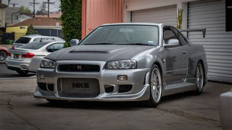 The Story Behind Paul Walker's Two US-Legal Nissan Skyline