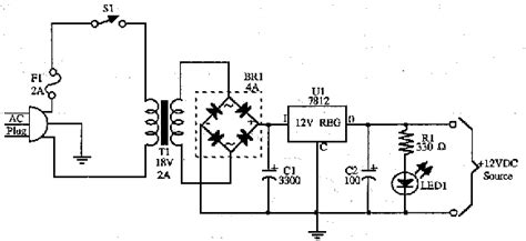 Power Supplies and Control Schematics, Circuits and Diagram