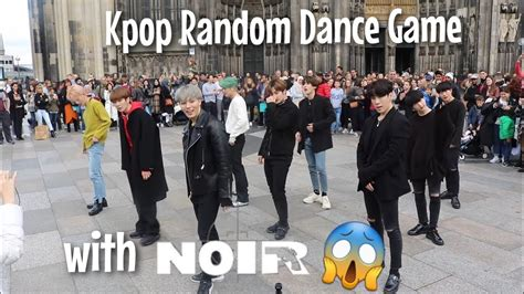 Kpop Random Dance Game with NOIR in Cologne, Germany   22