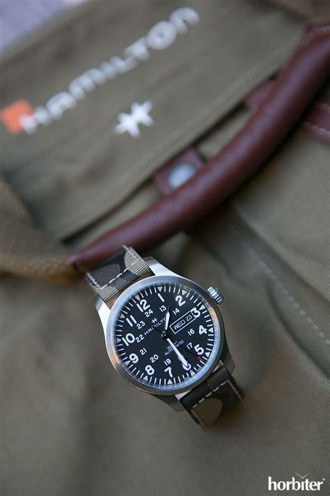 Hamilton Khaki Field Day Date 42mm Camouflage Collection