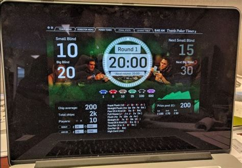 Tourney - Poker Blinds / Tourney Software for Mac and iOS