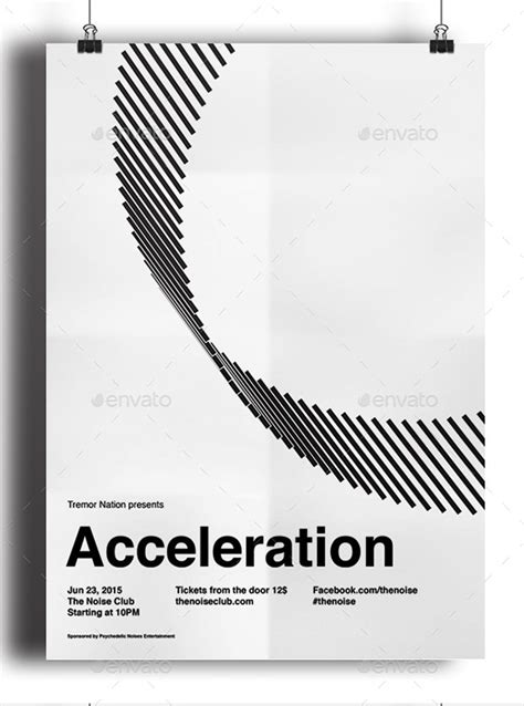 50 Outstanding Black & White Poster Designs | Web