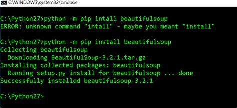 Unable to import beautifulsoup in python - Stack Overflow