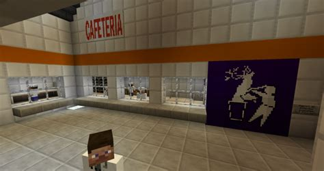 SCP Foundation Site-19 Facility Minecraft Project