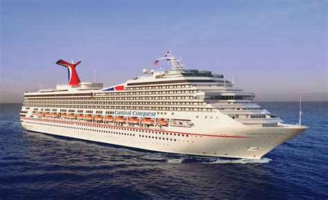 Carnival Conquest Cruise Ship and Top Cruise Deals
