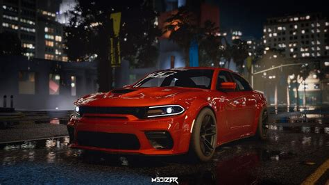 Dodge Charger Hellcat Widebody 2021 [Add-On | Animated