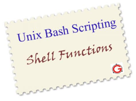 Bash Shell Functions Tutorial with 6 Practical Examples