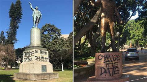 Sydney Mayor condemns statue vandalism but says it's time
