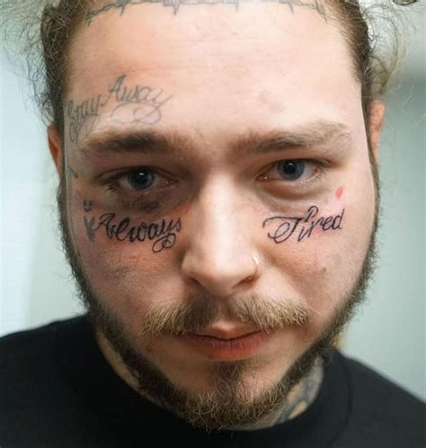 Post Malone Explains His 'Always Tired' Tattoo | HipHop-N-More