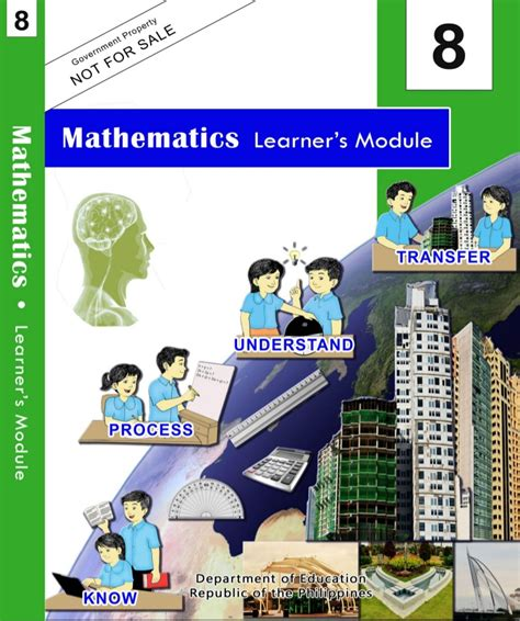 K to 12 - Grade 8 Mathematics Learner's Module 1st to 4th