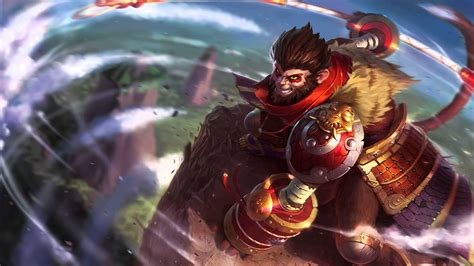 LOL Wukong - Japanese Voice League of Legends - YouTube