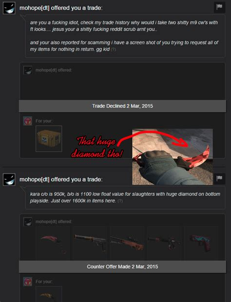 [Rep Fraud] deprived - 76561197960269046 : csgoscammers